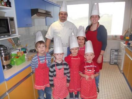 Unsere kleinen Küchenmeister