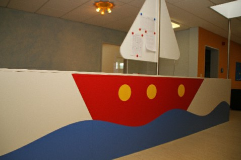 Piratenschiff / Unser Essbereich
