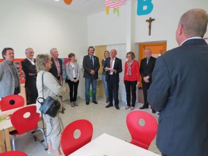 Begrüßung durch Bürgermeister Rainer Wirtz