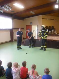 Feuerwehrmänner aus Kyllburg