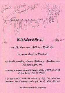 Kleiderboerse_Oberkail_2015
