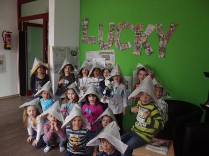 "Projekt ""Lucky"" mit den Drachenkindern der Kita Neidenbach"
