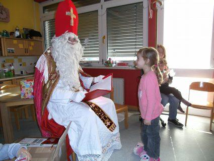 Foto Besuch Nikolaus in Badem